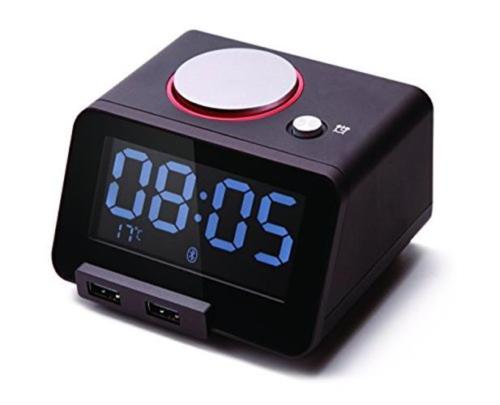 clock with usb charging function
