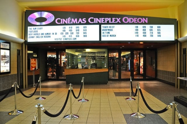 cineplex tickets