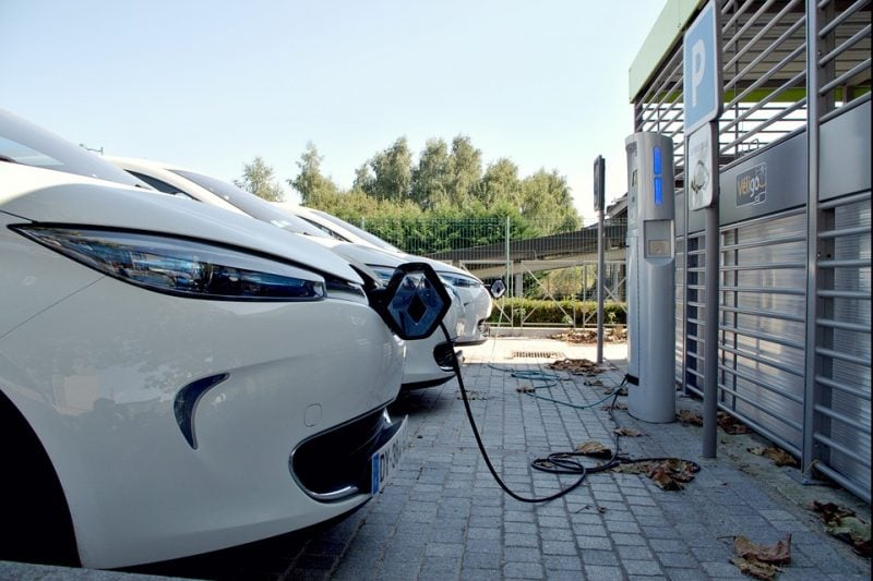 parking electric car charge