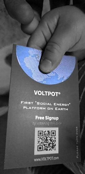 Voltpot is fighting against climate change
