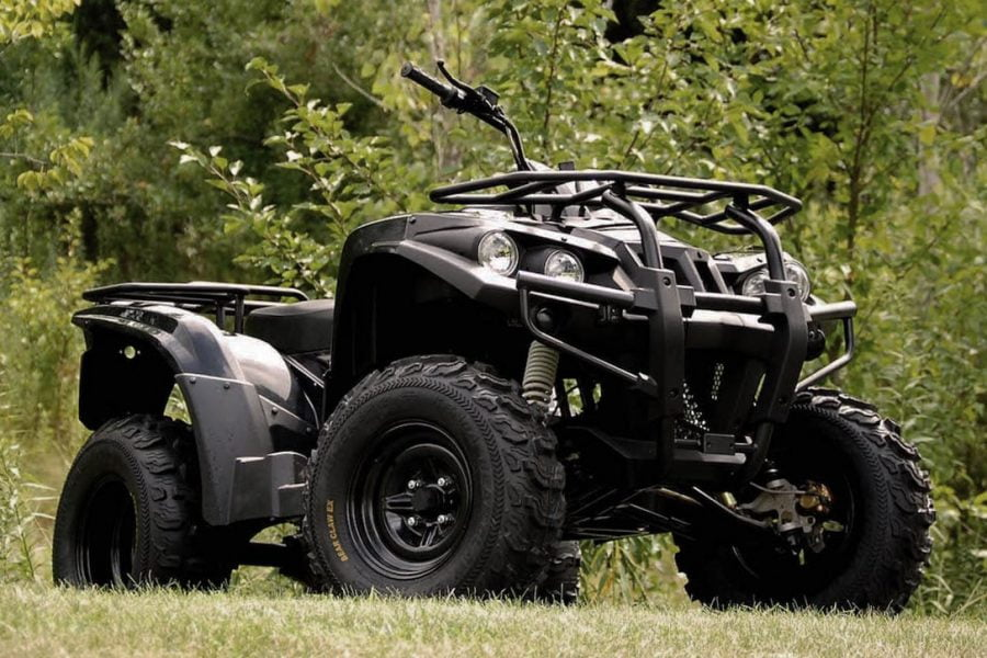 this is a fully functional electric ATV