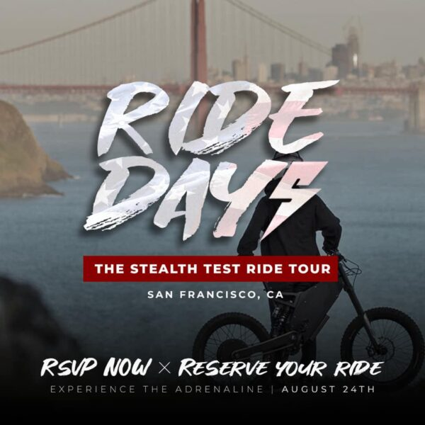 ride day stealth bikes
