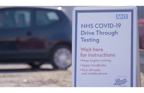 nhs drive through coronavirus testing