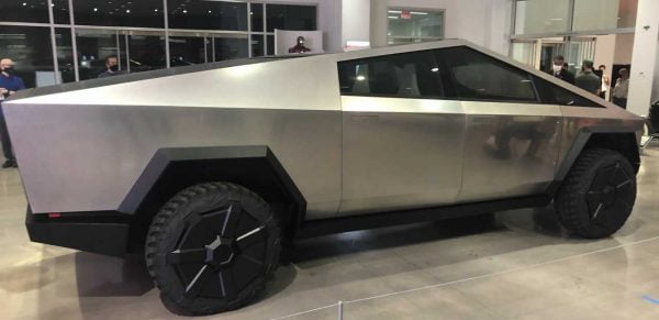 tesla cybertruck electric pickup